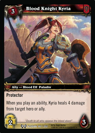 Blood Knight Kyria