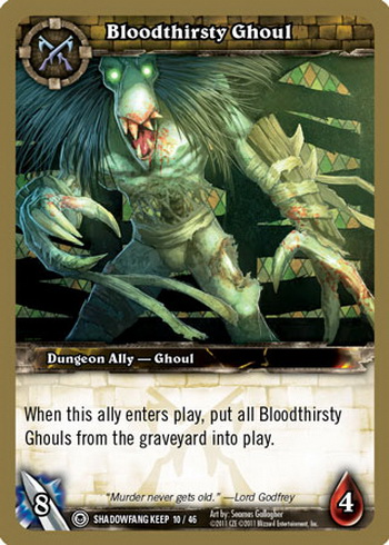Bloodthirsty Ghoul