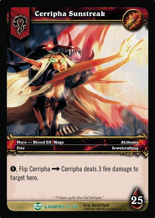 Cerripha Sunstreak