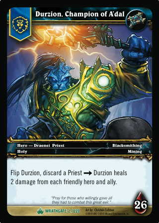 Durzion, Champion of A