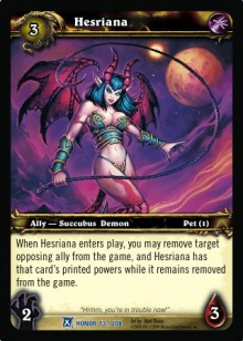 WoW TCG Banned and Restricted Announcement — World of